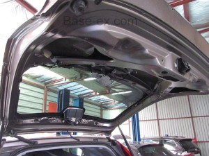 Honda CRV CR-V  дверь багажника