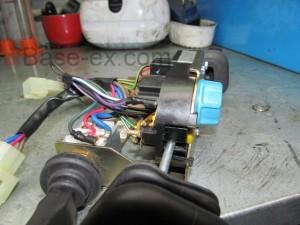 Land rover Defender подрулевой переключатель