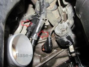 Hyundai Elantra дроссель патрубки