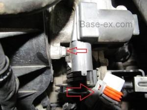 Hyundai Elantra дроссель
