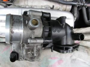 VW Golf TSI дроссельная заслонка