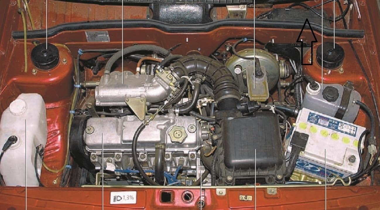 движок управления температурой на ваз2114 схема