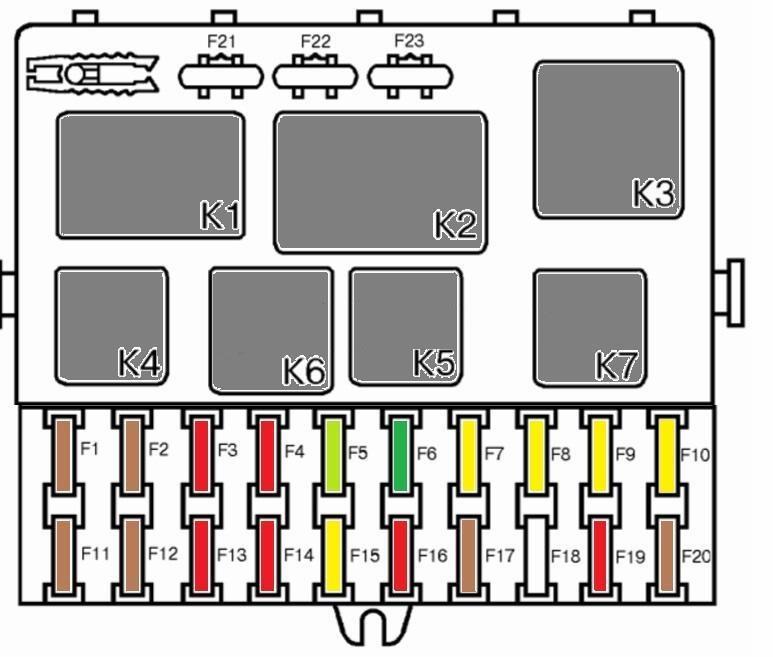 Схема предохранителей ваз 2112 16 клапанов фото 964