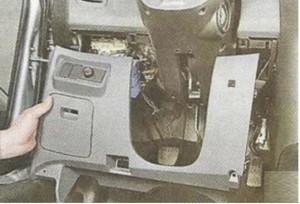 снятие блока Nissan Primera P12