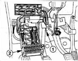 Ford Mondeo 1 предохранители