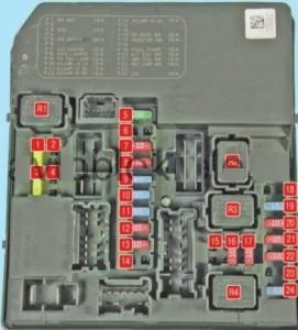 электрическая схема ниссан х-трейл т30