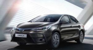 Toyota Corolla новая