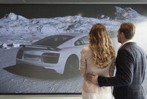 московский салон Audi