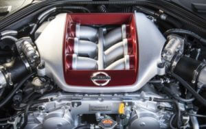 Nissan GT-R мотор