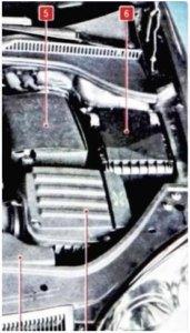 предохранители Volkswagen Jetta 5