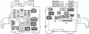 схема Toyota Camry 20