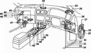 реле Toyota Mark 2 100