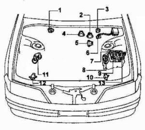 схема Toyota Mark 2 100