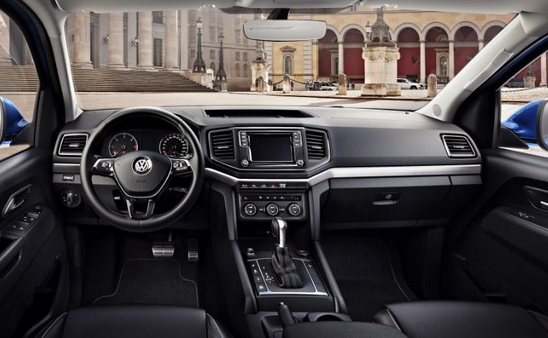 салон Volkswagen Amarok