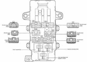 блок реле Celica T200