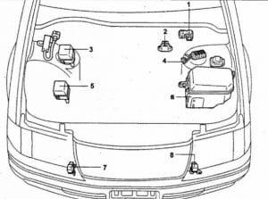 схема Toyota Crown