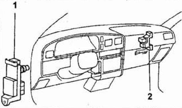 предохранители Toyota Hilux Surf, 4Runner