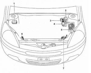 схема Toyota Funcargo