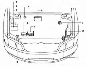 схема Toyota Gaia