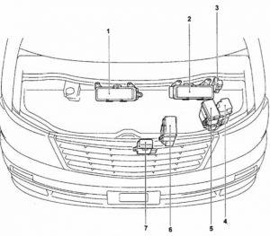 схема Toyota Alphard