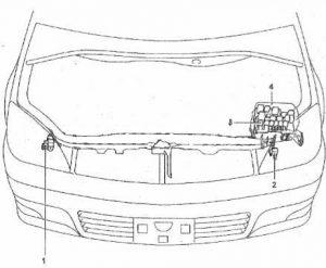 схема Toyota Opa