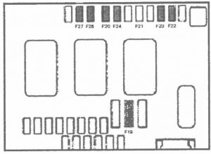 Предохранители и реле Citroen C4 седан