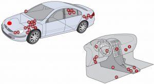 Предохранители и реле Peugeot 607
