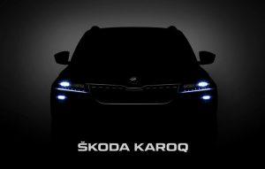 Первые фото Skoda Karoq