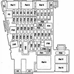 Предохранители и реле Skoda Octavia A7