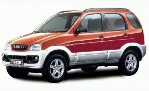 Предохранители и реле Daihatsu Terios 1