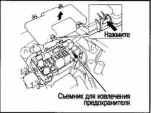 Предохранители и реле Honda CR-V RD4-RD7