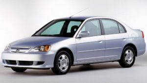 Предохранители и реле Honda Civic 7