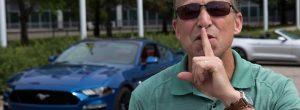 Ford Mustang - станет еще тише