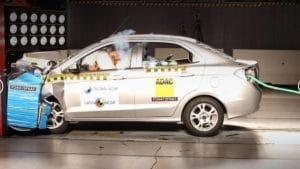 Ford Ka не прошел краш-тест Latin NCAP