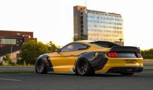 Ford Mustang в эксклюзивном обвесе