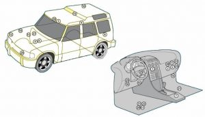 Предохранители и реле Land Rover Discovery 2